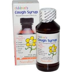 Natra Bio Cough Syrup Children'S 4 Fz