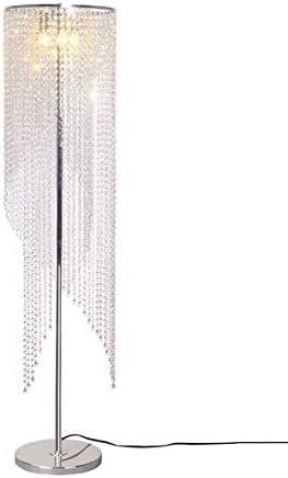Lampara de pie Cristal con Control Remoto a Color de Color Sala de Estar Moderna Sala de Bodas Cama roja Neta K9 Cristal Dormitorio: Amazon.es: Hogar