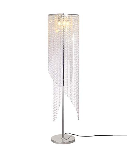Floor Lamps Crystal Led Remote Control Color Modern Living Room Wedding Room Net Red Bed K9 Crystal ()