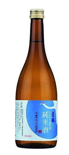 土佐鶴酒造 ひんやり 夏の宵 純米酒 720ml [高知県/中辛口]