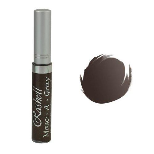 (3 Pack) RASHELL Masc-A-Gray Hair Color Mascara - Warm Brown by Rashell
