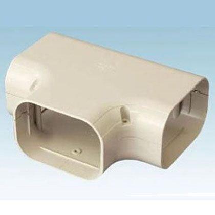 オーケー器材 配管化粧ダクト スカイダクト TDシリーズ チーズ 異径アダプタ付 ブラック 5個入 K-TDT14AK B01M6B8FFC