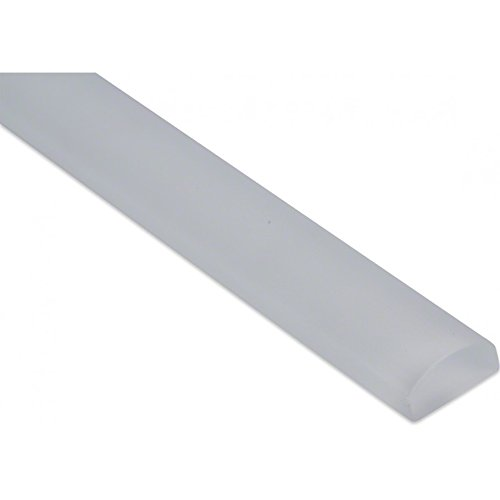 Glass Pencil Super White Frosted 3/4x12 (Sold by:Piece) GPFSPRWHT
