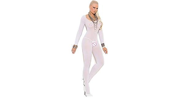 8b2ee98c92ae Amazon.com: Lannmart Women Tights Sexy Lingerie Hot Erotic Nylon ...