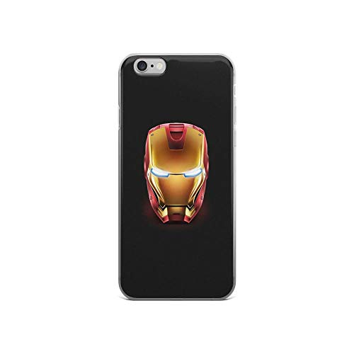 iPhone 6/6s Pure Clear Anti-Shock Cases Iron-Man Face