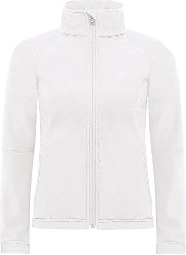 B&C Damen Jacke Weiß K4dDwAsm