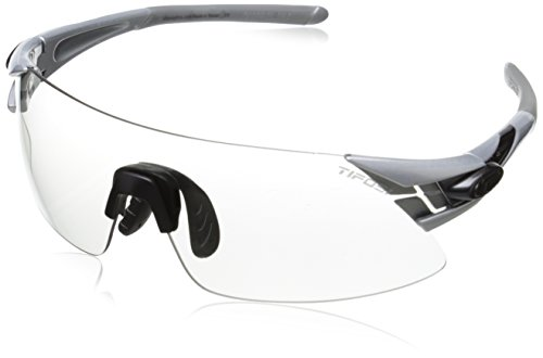 Tifosi Asian Podium XC 1150306531 Shield Sunglasses, Silver & Gunmetal, 124 - Podium Sunglasses