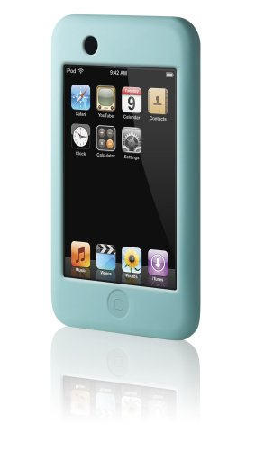 Belkin Silicone Sleeve Case for iPod touch 1G (Blue) Belkin Blue Silicone Case