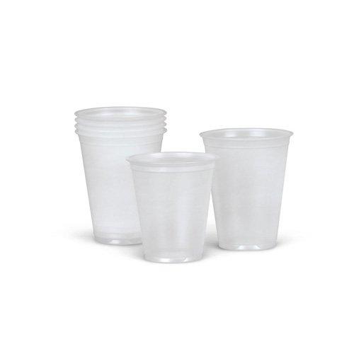 NON03005H - Medline Disposable Plastic Drinking Cups,Translucent,5.000 OZ