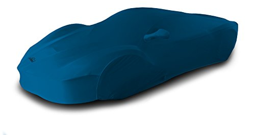 Coverking Custom Car Cover for Select Ford Mustang Models - Satin Stretch (Grabber Blue) ()