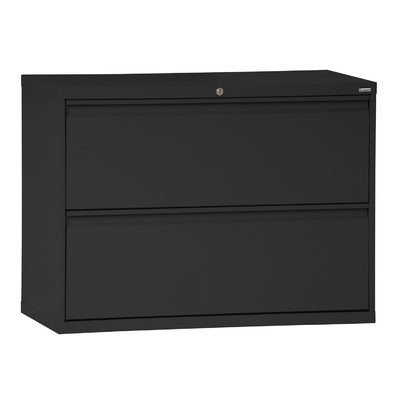 Sandusky Lee LF8F422-09 800 Series 2 Drawer Lateral File Cabinet, 19.25