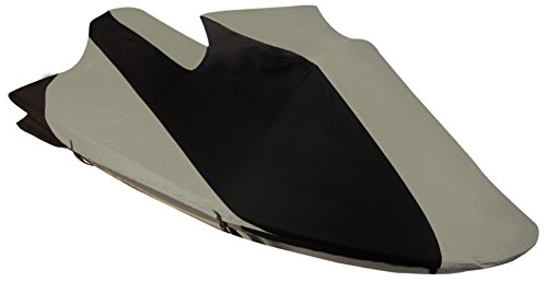 Leader Accessories Black Grey 600D Solution Dyed Polyester Polaris Jet Ski PWC Cover (Genesis 1999-2003)