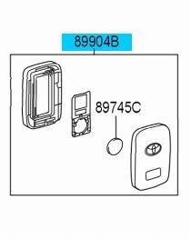 2014 toyota highlander smart key battery replacement