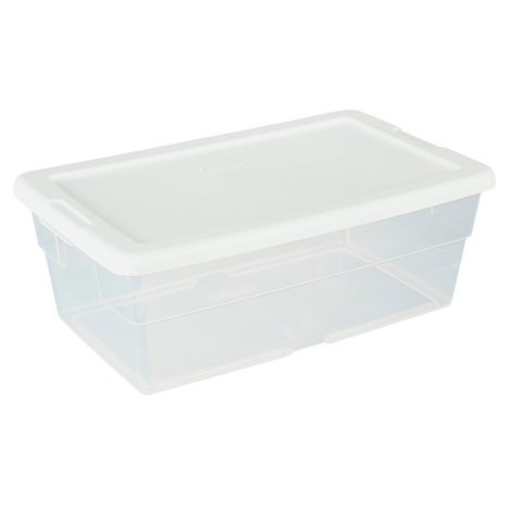 6 quart storage tub - 8