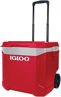 Igloo Nevera portátil Latitude 57 litros Roller-Roja Ruedas ...