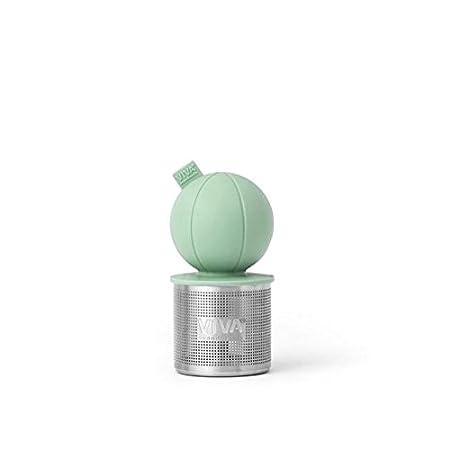6 x 6 x 9 cm Stainless Steel Viva Scandinavia Viva Infusion Tea Strainer-Mint