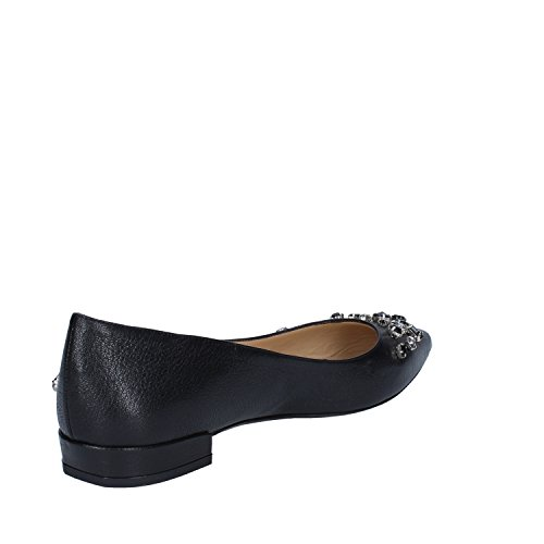 MARRA Flats 37 Leather 5 GIANNI Woman Black EU Ballet 1wgq1FBd