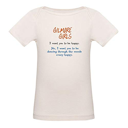 CafePress Lorelai's Happiness Quote T-Shirt Organic Cotton Baby T-Shirt