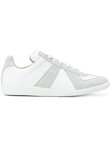 Margiela Uomo Maison S57ws0175sy0644101 Pelle Sneakers Bianco