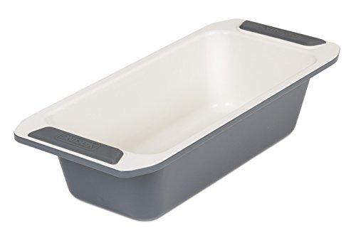 Viking Ceramic Nonstick Bakeware Loaf Pan, 10 (White Loaf Pan)