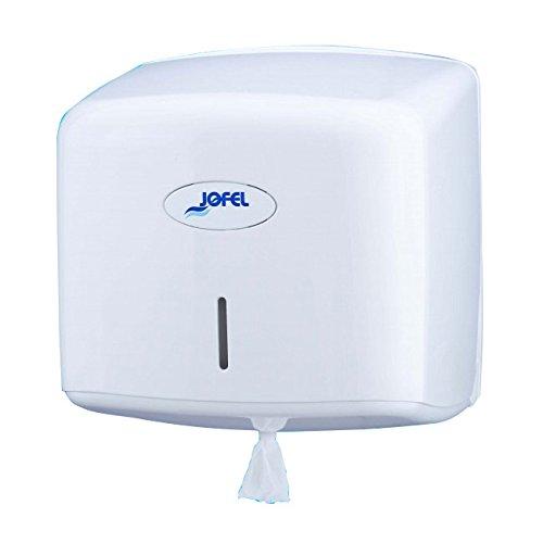 White Jofel ae67000/Toilet Roll Holder vertical Central Dispensation 300/m
