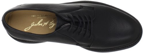 Frye Mens James Oxford Leather Shoes Black- 84617