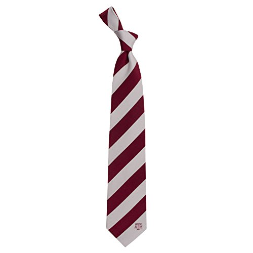 Eagles Wings Texas A&M University Regiment Woven Silk Tie