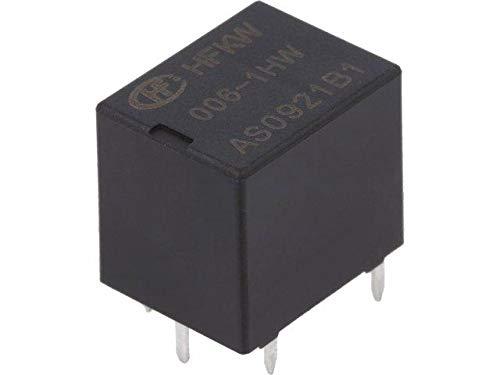 2x HFKW//006-1HW Relay electromagnetic SPST-NO Ucoil6VDC 35A Ucoil max8VDC