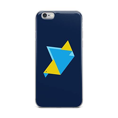 iPhone 6 Plus/6s Plus Case Anti-Scratch Creature Animal Transparent Cases Cover Triangle Bird Animals Fauna Crystal Clear