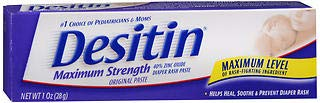 Desitin Maximum Strength Original Paste - 1 oz J&J CONSUMER INC