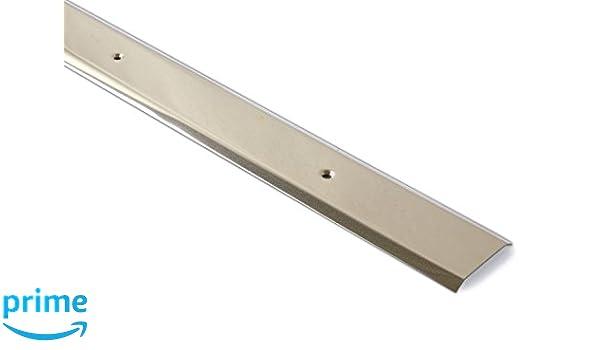 Brinox B710204 Tapajuntas moqueta Ancho, Acero Inoxidable, 100 cm