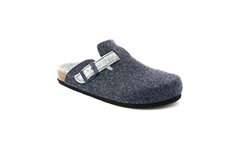Blu GRUNLAND y Sara cenere Piscina Zapatos de para Playa Mujer fOwqfH