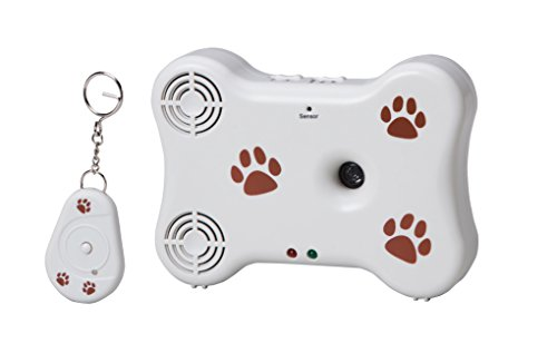 NewRam Ultrasonic Dog Barking Control: Stop your Neighbour's Dogs. Automatic Deterrent for Outdoor & Indoor. Long Range & Remote Control Safe Pet Behavior Training Device by NewRam