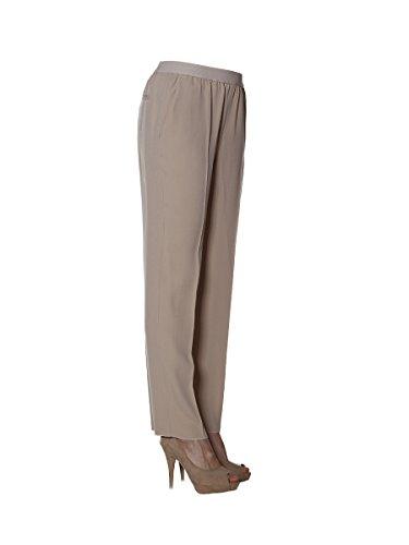 Agnona Pantaloni Donna U50157901OYN06 Acetato Beige/Grigio