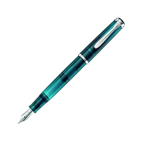 Pelikan M205 Aquamarine Fountain Pen Fine (Fine) by Pelikan