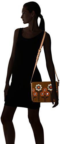Embroidery Bag Coffee Kiely Suede Orla Rosemary Orla Kiely ZwxIYqqB7