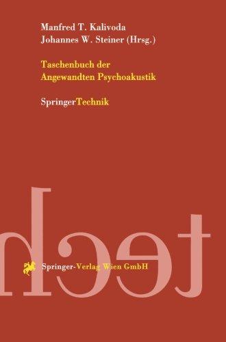Taschenbuch der Angewandten Psychoakustik (German Edition)