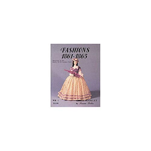 - Superior Dollhouse Miniatures Wish Booklet No1 Fashions 1861-1865