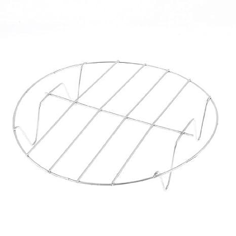 Amazon.com: Acero inoxidable utensilios de cocina al vapor rack 4 Patas 7, 7 pulgadas Dia: Kitchen & Dining
