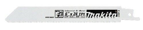 Makita 723067-A-5 6-Inch 24-TPI Metal Cutting Reciprocating Saw Blade -