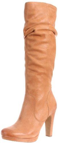 Jessica Simpson Women's Keaton Knee-High Boot,Tan Winter Haze,7 M US