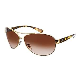 Amazon Com Ray Ban Sunglasses Rb3386 Frame Gold Lens
