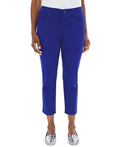Chico's Women's Sateen Slim Crop Jeans