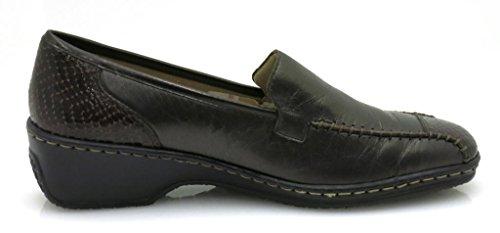 ARA SCARPE BASSE scarpe di cuoio pantofola mocassino scarpe di cuoio scarpa da signora BRONZO 3201