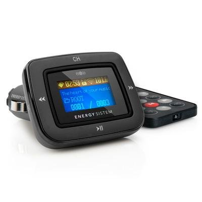 186 opinioni per Energy Sistem Car MP3 1100- FM transmitters (87.5- 108 MHz, LCD, Wired, Gold,