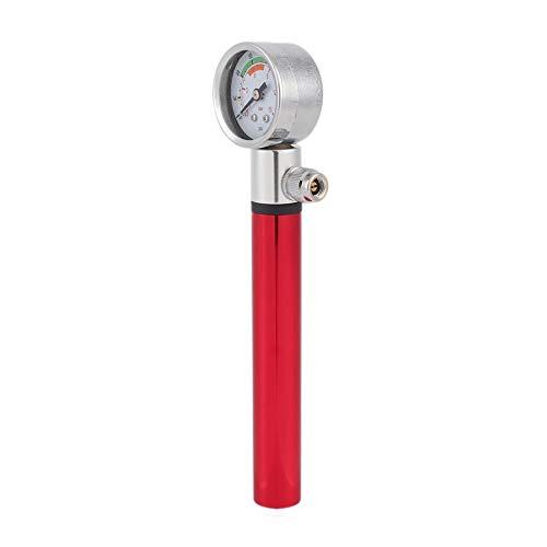 Jullyelegant Mini Bomba de Bicicleta MTB con medidor de presi/ón Impermeable Ultraligero Port/átil Inflador de neum/áticos de Bola Bombas manuales de aleaci/ón de Aluminio Rojo