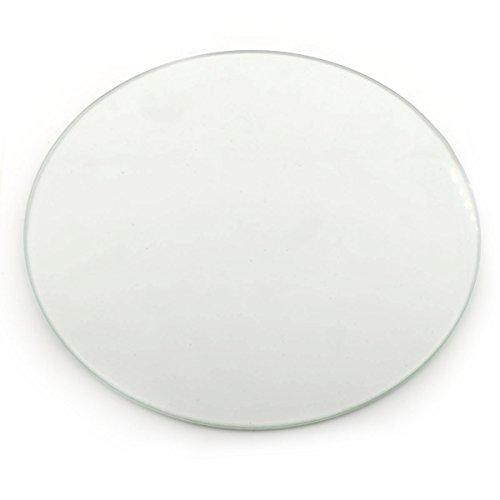 Orish 3D Printer Round Borosilicate Glass Plate Surface for Kossel Delta RepRap 200*3mm