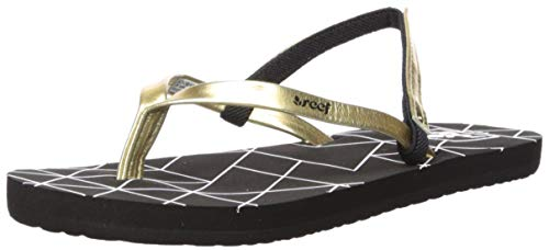 Reef Girls Bliss-Full Sandal Gold Pyramids 11-12 Medium US Little Kid