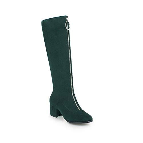 Largo Largo Largo da Stivali Boots Donna Women's Largo Green Green Green Green Lunghi con Tacco con Tacco Tg1Xqq4xw