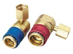 Robinair 18341 Set of 2- R134A Couplers Automatic Type